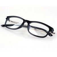 Fashion New Vintage Retro Flat Reading glasses Clear Lens Nerd Geek Eyeglasses