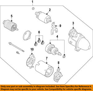 KIA OEM 11-15 Optima-Starter Motor 361002G200RU