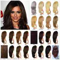 "20% SALE Superior Double Volume 22-24"" Reversible Half Head Wig Fall 3/4 Weave"