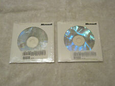 Lot of 2 Microsoft Office XP 2002 Small Business Edition packs