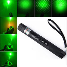 5mw Military 532nm 303 Green Laser Pointer Lazer Pen Adjustable Focus Burning