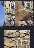 S3537 Liechtenstein Maxicard 1994, Minerals 3v