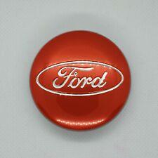 Ford Alloy Wheel Centre Hub Cap Red 54mm Fits Most Models Focus Fiesta Kuga