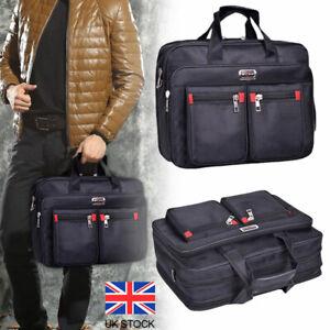 Travel Work Laptop Briefcase Men Messenger Satchel Shoulder Bag Document Handbag