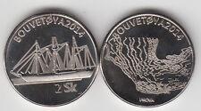 BOUVET ISLAND (BOUVETØYA) 2 Skillings 2014, ship, fantasy coinage