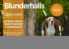 Blunderhalls Grain Free Dog Food, Made With Freshtrusion™, Salmon Recipe, 15kg