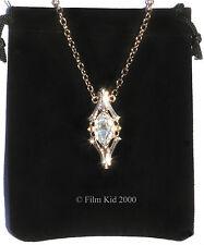 GALADRIEL Crystal Phial COLLANA Elven LOTR Hobbit Smaug il signore degli anelli
