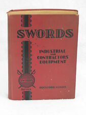 Swords  INDUSTRIAL AND CONTRACTORS EQUIPMENT # 31 Self Published  No Date