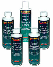 Wasserbetten Conditioner BLUE MAGIC Mehrzweck Plus 4x 236 ml + Vinylreiniger