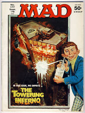 Mad Magazine -- #177 -- Sept. 1975 --- Towering Inferno