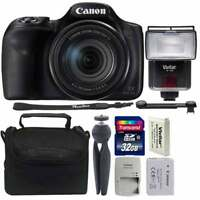 Canon Powershot Sx540 HS 20.3MP Digital Camera with 32GB Great Value Bundle