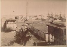 Türkei  Turkey  Ottoman  Port  Said  Ägypten  Suez  kanal  Schiffe  Hafen  FOTO