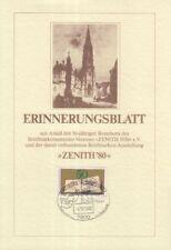 Erinnerungsblatt zum Jubiläum BSV Zenith 1930 Freiburg (mit Marke MiNr.1054)