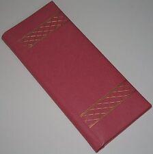Vintage Pink Photo Album Flip Up Pages Slip-in Pockets Holds 72 Pictures