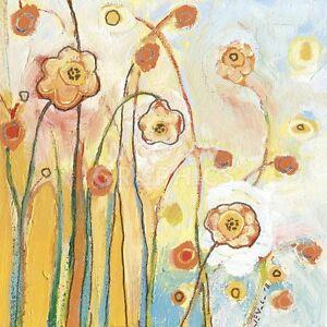 """LOMMERS JENNIFER - ORANGE WHIMSY - ART PRINT POSTER 14"""" x 11"""" (4124)"""