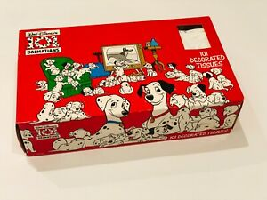 Walt Disney 101 Dalmations Decorated Tissues - 4 Boxes of 100 Tissues