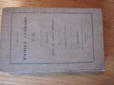 1830 John Galt's Life Of Lord Byron Harper's Family Library IX