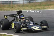 Ronnie Peterson JPS Lotus Dutch GP 1975 Photograph