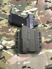OD Green Kydex Light Bearing Holster for Glock 19 23 32 Inforce APL