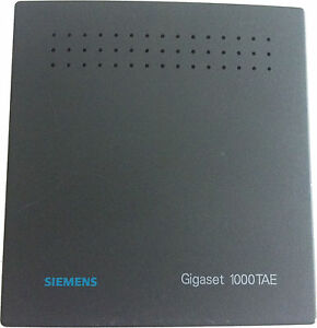 Siemens Gigaset 1000TAE 1000 TAE schnurlose TAE Dose analog ISDN #62