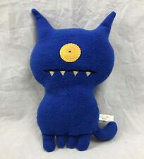 Uglydolls UGLYDOG Plush Stuffed Animal 12 inch Toy Blue  2004 Pretty Ugly LLC
