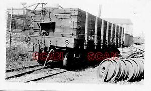 1F518 RP 1930s HAGERSTOWN & FREDERICK RAILWAY WOOD STAKE SIDE GONDOLA