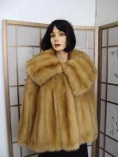 Nwt Gray Sweater Wrap Faux Fur Trim Cape Bolo Brand Women's Accessories