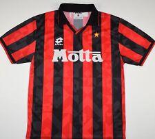 1993-1994 AC MILAN LOTTO HOME FOOTBALL SHIRT (SIZE M)