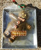 Disney Parks gingerbread man on the cookie  sheet candle rare