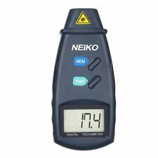Neiko Digital Laser Photo Non Contact Tachometer Meter | LCD Screen 99,999 RPM