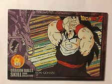 Dragon Ball Z Skill Card Collection N20
