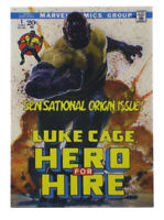 2018 Upper Deck Marvel Masterpieces Luke Cage What If? Card Bianchi 629/999