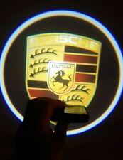 Projecteur tuning Porsche pour portière de voiture 2 X PORSCHE