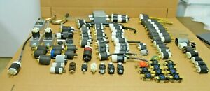LOT OF HUBBELL TWIST-LOCK PLUGS CONNECTORS RECEPTACLES STRAIN RELIEFS 75+ PIECES