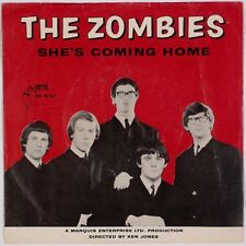 THE ZOMBIES: She's Coming Home US Parrot Garage Psych 45 w/ PS Hear