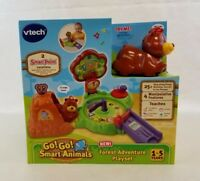 Vtech Go! Go! Playset Smart Animals Forest Adventure Ages 1-5 Years NEW