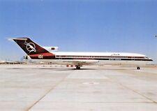 QATAR AIRWAYS B-727-2M7 A7-ABC c/n 21951  Airplane Postcard