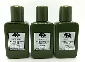 Lot/3 Origins Mega Mushroom Relief & Resilience Soothing Treatment Lotion ~ 1 oz