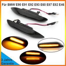 Dynamic Smoked LED Side Marker Turn Signal For BMW E90 E91 E92 E60 E87 E82 E46