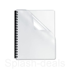 Pack of 10 Sheets 240mic Ideal for Visor Making and Binding Covers A4 PVC