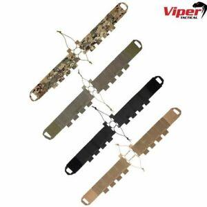 VIPER ELASTIC MAG POUCH CUMMERBUND X8 MAGAZINES HOLDER AIRSOFT ARMY WEBBING