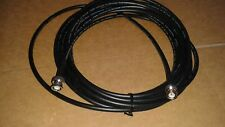 50 FT     RG-8X   CB  Ham Radio  BNC   Male   to  BNC  Male  50 ohm  coax cable