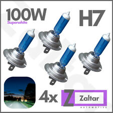 H7 100w White Xenon HID Super Headlight Lamps Light Blue Globes Bulbs 12v 4x