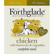 Forthglade Complete Meal Senior Chicken with Brown Rice & Ve - 395g - 538275