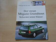 52229) Renault Megane Grandtour Prospekt 03/1999