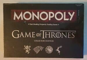 Monopoly: Game Of Thrones Board Game Collector's Edition ( New & Sealed )