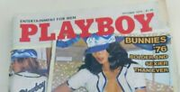 Playboy Magazine October 1976 Bunnies of 1976