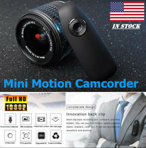 1080P HD Video DVR IR Night SPY Cam 130° Bike Motion Camcorder Mini Body Camera