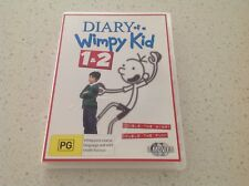 DIARY OF A WIMPY KID 1& 2 TWO SET DVD MOVIE SET, MINT, COLLECTORS BARGAIN KIDS