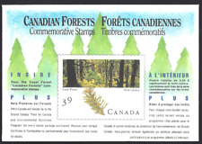 Canada  # 1285  CANADIAN FOREST COMPLETE  COMMEMORATIVE SET  VF-NH